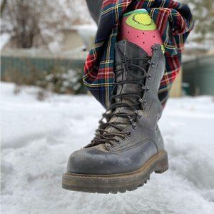 Awesome Gore Tex steel toe combat army boots